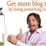 Get more blog traffic by doing something you enjoy
